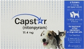 Capstar Flea Treatment For Dogs & Cats 6 count