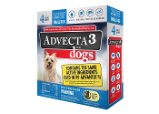 Advecta 3 Flea Drops for Dogs 5 - 10 LBS. 4ct