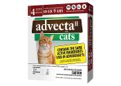 Advecta II Flea Drops for Cats Over 9 Lbs 4 Month
